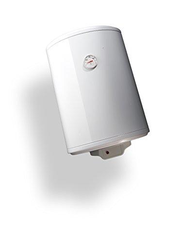 Bandini Braün Boiler Elektro Zylindrische senkrecht ECO Energiesparend mit Anode von Magnesium und Sicherheitsventil, 1200W, 230V, weiß, weiß, ECO-60 1200 wattsW, 230 voltsV -