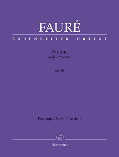 Preisvergleich Produktbild Pavane für Orchester op. 50. Partitur