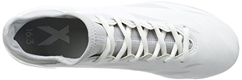adidas Herren X 16.3 Tf Fußball-Trainingsschuhe weiß / grau