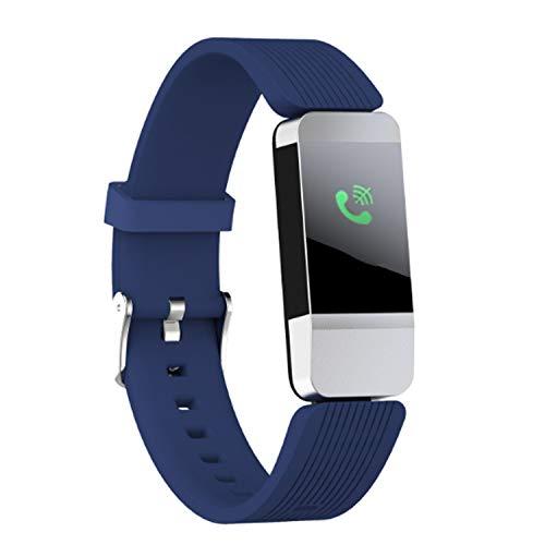 Smart Uhr des Aktivitätsmesser Pedometer Smart Armband Smart Band Blutdruckmessgerät Pulsmonitor Schlaf gage eingehende Telefon Benachrichtigung lange Wartezeit IP & Android entspricht IP68 wasser- un