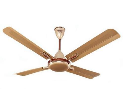 Orient Quadro Ornamental 47-inch 70-Watt Premium Ceiling Fan (Golden Chocolate)