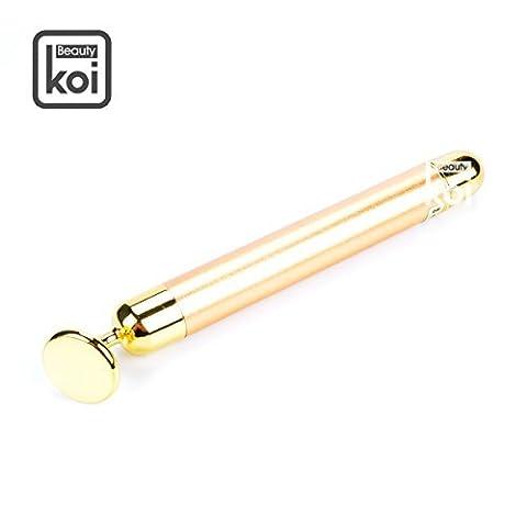 Koi Beauty 24 K Beauty Bar vibrant de massage du visage rouleau de massage