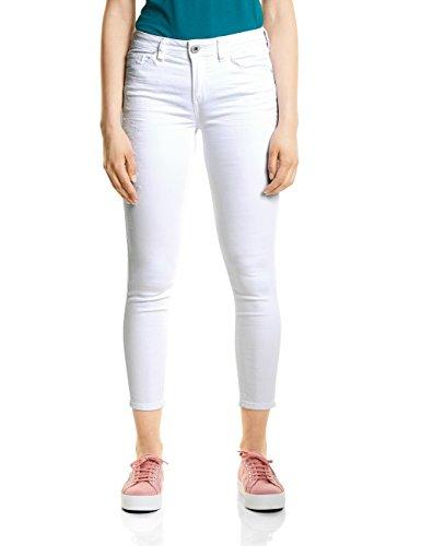 Street One Damen Slim Jeans 371331 York, Weiß (White Denim 11371), W31/L28