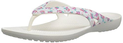 Crocs Women's Kadeeiilprdflp Open Back Slippers, Brown