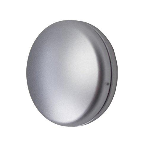 Dekomagnet rund 28mm - zum raffen von Vorhängen oder als Griff für Schiebevorhänge - Qualität Made in Germany - starker Halt (Chrom-Matt)