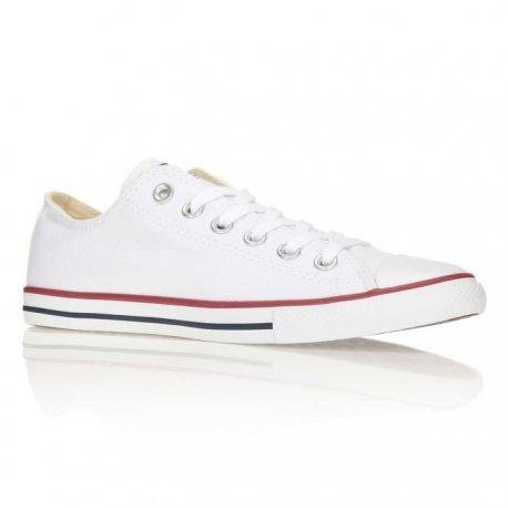 Converse Schuhe Chuck Taylor All Star Lean OX Unisex optical white (142270C), 35,5, weiss