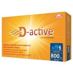 D-ACTIVE 800 UI SENIOR 60CPR