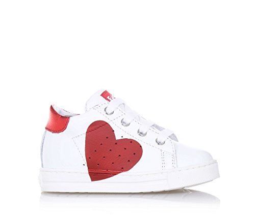 Naturino FALCOTTO HEART Sneakers Bassa Bambina Bianco