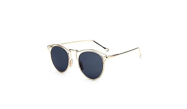 WKAIJC Mode Individualität Komfort Freizeit Pfeil Frauen Der Zustrom Von Menschen Sonnenbrillen Metall Hell Sonnenbrille,C