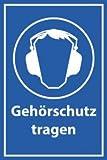 Arbeitsschutz Schild -503- Gehörschutz, ohne Befestigung