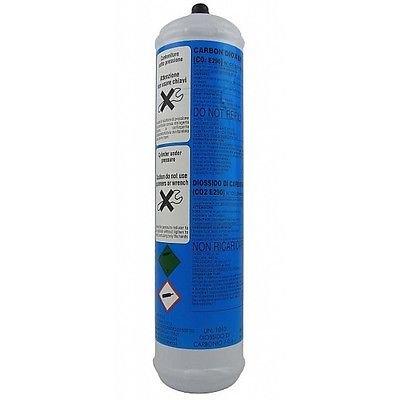 Gasflasche CO2Zylinder Einweg-600gr Sockel 11/1Trinkwassersprudler Wasser