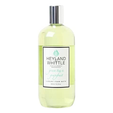 Heyland and Whittle Green Tea and Grapefruit Foam Bath by Heyland & Whittle