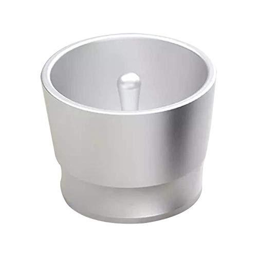 Kaffee Tamper Barista Werkzeug Simple Schleifer Dosierung Ring Tragbar Pulver Feeder Easpresso Maker Cup Intelligent Brewing Schüssel Aluminium Legierung Schwarz - Weiß, free size -