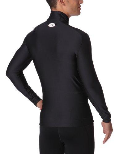 Under Armour Herren Shirt CG Compression Evo Mock Black/Black/White