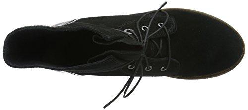 s.Oliver 25203, Stivali Chukka Donna Nero (BLACK 1)