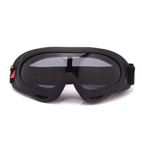 TOOSD Radsport-Brillen Anti-Fog UV-Schutz Skifahren Sport Brille mit Wechselobjektiven unzerbrechlichem Rahmen PC-Objektiv Unisex Sonnenbrille,C