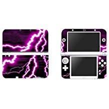 eseeking Vinyl Cover Aufkleber Skin Aufkleber für Neue Nintendo 3DS XL/LL-Violett Lightning (Xl Cover 3ds)