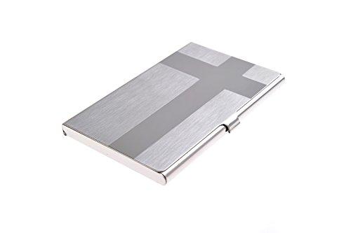Portabiglietti da visita in acciaio inox di alta qualità, moderno ed elencante con design a (Moderna Di Alta Qualità Design)
