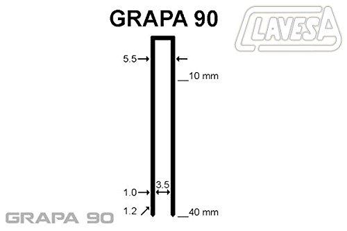 Agrafeuse pneumatique Mito mg-9040. Agrafes type 90jusqu'à 40mm de long.