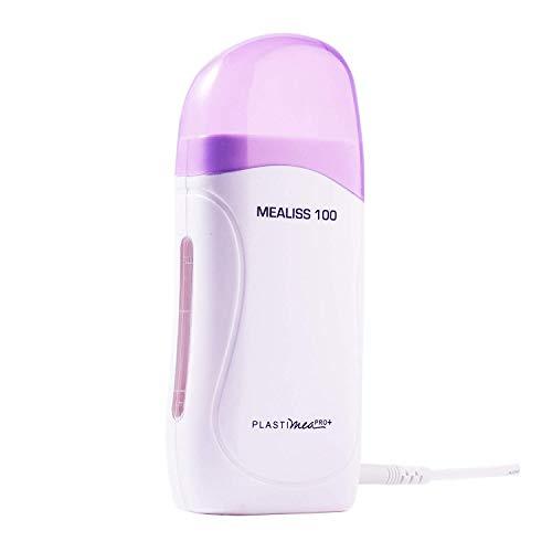 Calentador de Cera Easy Wax Kit de Roll On Eléctrico Cera Depilatoria Depilación con Bandas Mujer...