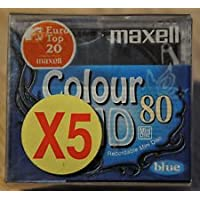 Maxell Colour MD 80 MiniDisc (5Pack)