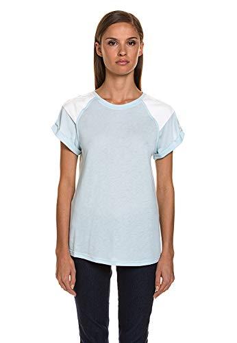 Liebeskind Berlin Damen T-Shirt Modisches Shirt Top Oberteil weicher Lyocell Mix