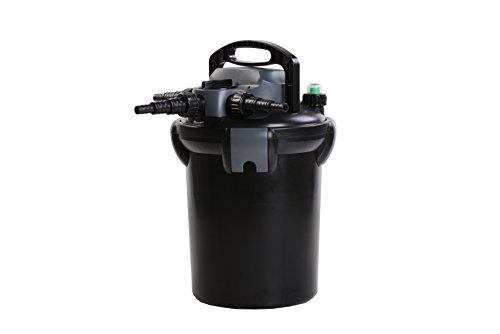 AquaForte CBF de 4000Impresión filtro, Negro, 28x 28x 42cm