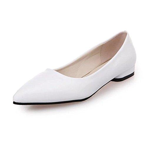 Chaussures Plates Peu Profondes Joker / La Version Coréenne Des Appartements Peu Profonds Dans Les Chaussures De Printemps / Joker