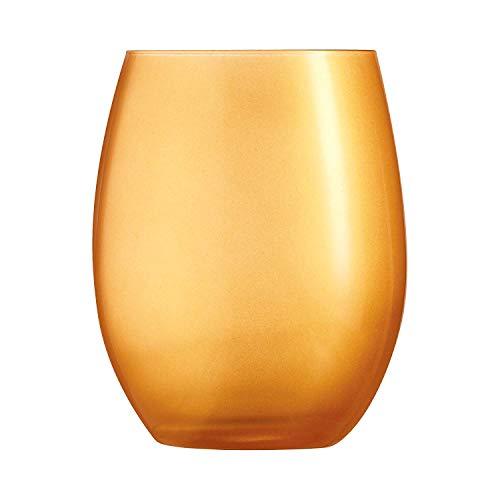 Chef & Sommelier - Gobelet Haut Primarific Gold - Lot De 6 Verres - 35 Cl