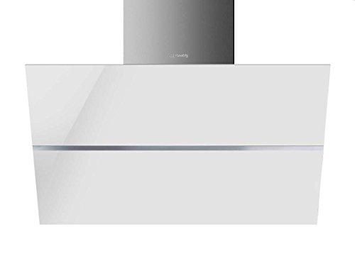 Smeg KCV80BE Kopffrei Wand Dunstabzugshaube Weiß Kaminesse Lüfter Abzugshaube
