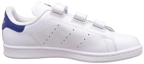 adidas Stan Smith Cf, Basket homme Blanc Cassé (Ftwwht/ftwwht/croyal)