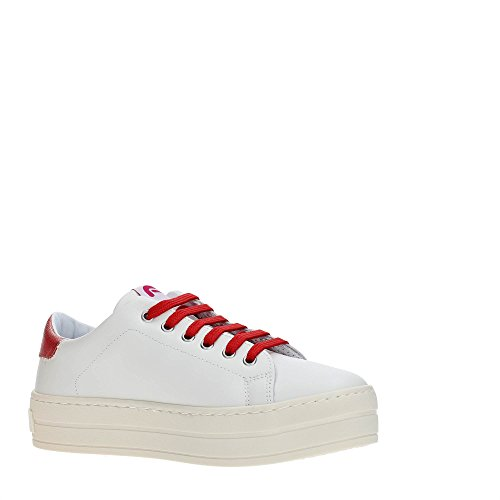 Fornarina PE18MX295CL Sneakers Donna Off White/Red