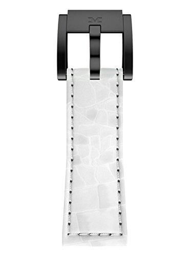 TW Steel Marc Coblen Armband Uhrenband Leder 22 MM Kroko weiss LB_W_K_B