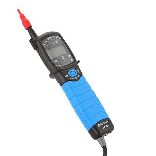 Ballylelly HP-38A Tipo di penna Multimetro digitale HoldPeak Tester di tensione Tester di tensione a 2 poli con display Dati di test di tenuta automatica