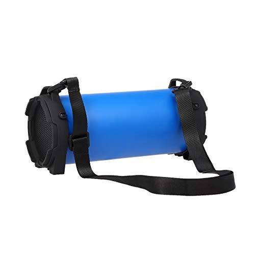 Festnight Smalody SL-10 Drahtloser Bluetooth Lautsprecher Outdoor Soundbox 10W Stereo Bass Subwoofer Unterstützung FM Radio TF U Antrieb AUX IN w/Mic Gurtband