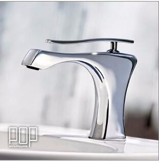 Qmpzg-Waschbecken mit warmen und kaltem Wasser kreative Wasserhahn Cu alle