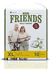 FRIENDS Adult Diaper (Easy) - XL (Pack of 4)