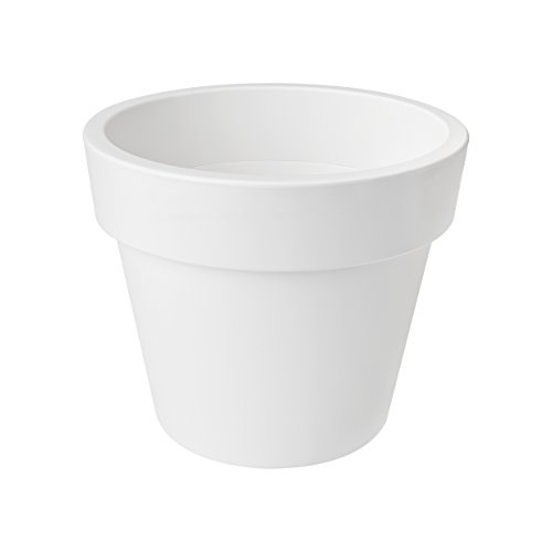 Elho green basics top planter garden planter 30cm - white