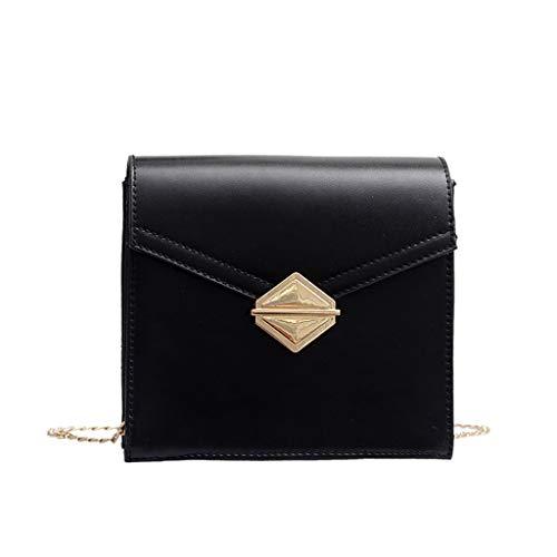 XZDCDJ Crossbody Tasche Damen UmhängeTaschen Daypacks Frauen Wild Messenger Bag Fashion One-Shoulder Kleine quadratische Tasche -