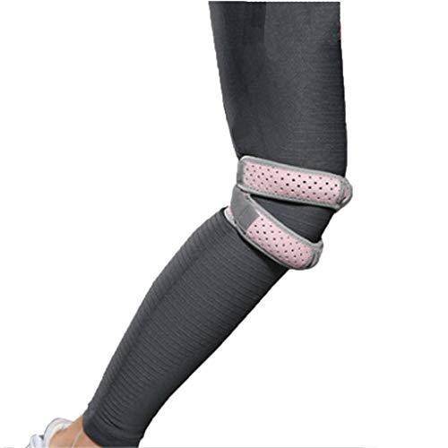 HQYXGS Knieschoner, Damen-Schienbein-Gürtel Kniebandage für spezielle Laufsportarten