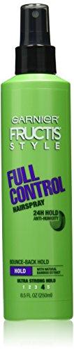 Garnier Laque non-aérosol Fructis Style Full Control - Tenue extra ferme toute la journée - 250 ml