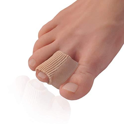 Dr. frederick's original 2 distanziatori per le dita dei piedi in tessuto - set di separatori per alleviare il dolore all'alluce valgo - 1 coppia di protettori in tessuto - per uomo e per donna