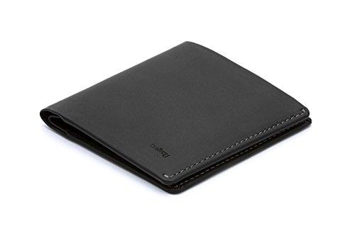 Bellroy Herren Leder Geldbörse Note Sleeve (Neues Update), Farbe: Black