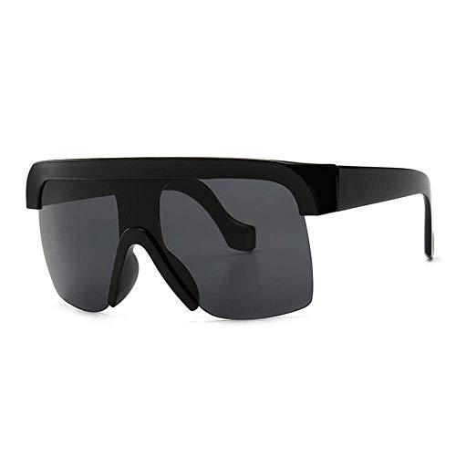 ZXL Sonnenbrillen Retro Big Frame Flat Top Sonnenbrillen