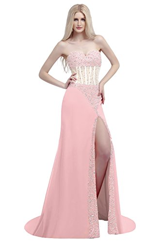 Ikerenwedding - Robe - Taille empire - Femme Small Rose