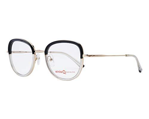 Etnia Barcelona Brille (OLBIA BKGD) Metall - Acetate Kunststoff glitzer kristall - gold