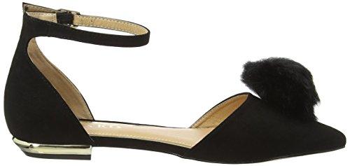 Miss KG Goldie, Ballerines femme Noir - Noir