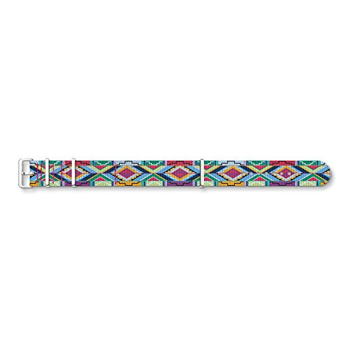 THOMAS SABO Unisex Armband Textil; Edelstahl ZWA0314-276-7