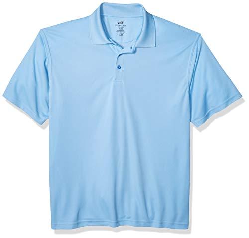 Cool Mesh-polo (UltraClubs Herren ULTC-8210-Cool & Dry Mesh Piqué-Polo, Columbia Blue, Größe XXL)