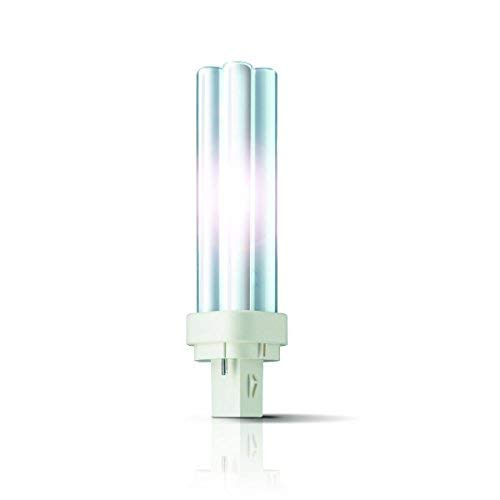 10x PHILIPS MASTER PL-C G24d Energiesparlampe 2-PIN - Auswahl (G24d3) 26W/840 - neutral-weiss) -